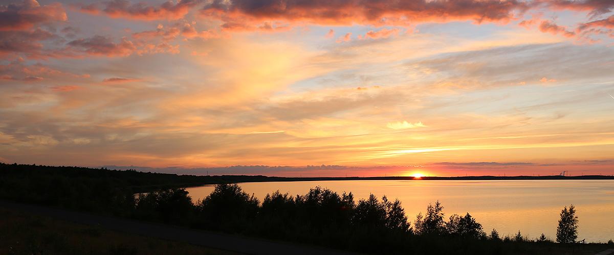 Bestattungsinstitut Kuhne Home Sonnenuntergang